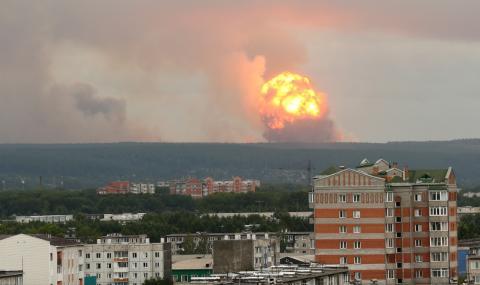 Нови взривове в руски военен склад