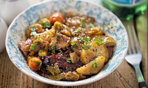 Рецепта за вечеря: Яхния с агнешко