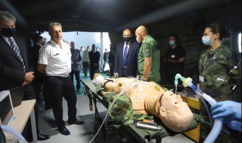 ВМА откри уникален симулационен тренировъчен център, президентът присъства на церемонията - 1