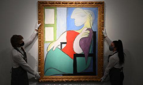 Картина на Пабло Пикасо беше продадена на търг за 103,4 милиона долара