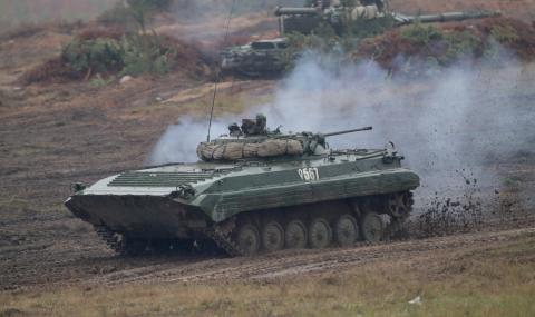 Русия и Беларус тренират за война