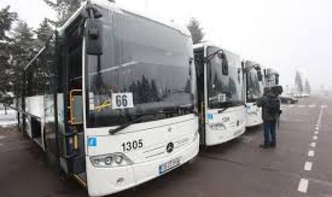 Автобусите тръгват към Витоша