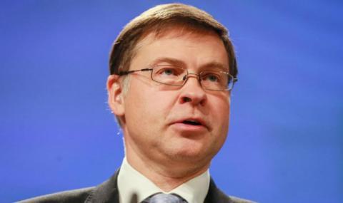 Валдис Домбровскис пред БНР: Докладът по Европейския семестър няма общо с мониторинга