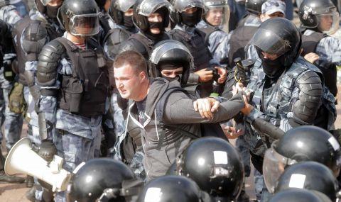 Задържаха журналисти на протест в Русия - 1