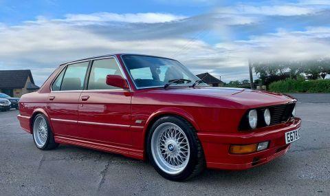 Под капака на това BMW 5 Series се крие двигател от... Mercedes - 1