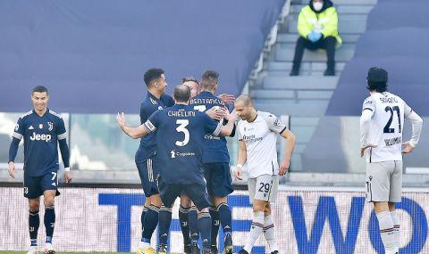 Ювентус се възползва от грешките на Милан и Интер