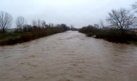 Частично бедствено положение в община Септември, Марица пред преливане