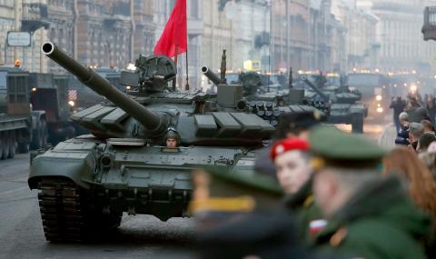 Русия влезе в петицата на страните с най-високи военни разходи