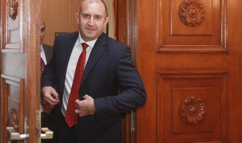 ЦИК не видя нарушение в думите на президента Радев