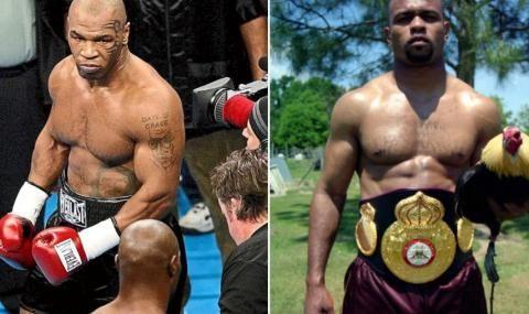 Майк Тайсън с пет килограма повече от съперника си Рой Джоунс-младши
