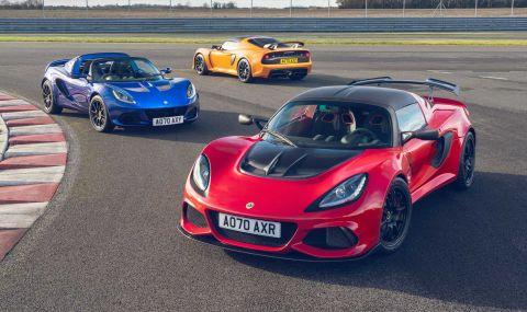 Повече мощност за последните Lotus Elise и Exige - 1