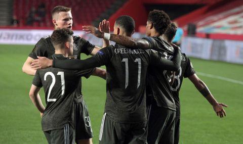 Манчестър Юнайтед победи отбора на Рууни в контрола