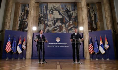 САЩ отново срещат Сърбия и Косово