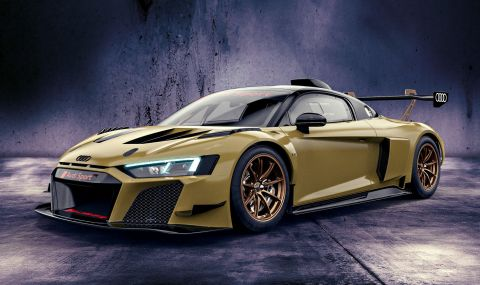 Audi показа цветни състезателни R8-ци с цена от 350 хиляди евро - 6