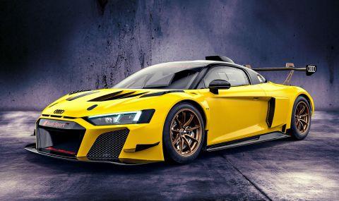 Audi показа цветни състезателни R8-ци с цена от 350 хиляди евро - 7