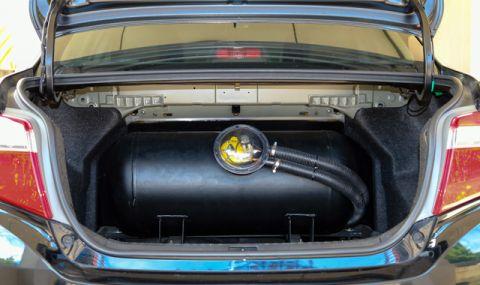 Масово преминаване на автомобилите в Русия на газ