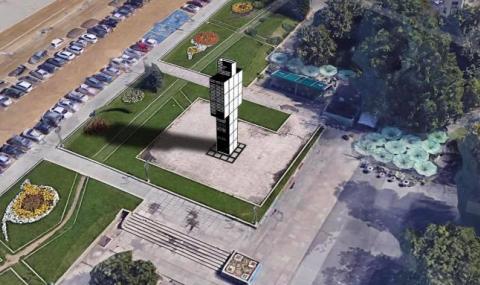 Монтират високотехнологична арт инсталация на мястото на Мавзолея