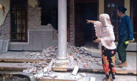 Петима загинаха при земетресение