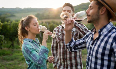 Консумацията на вино намалява