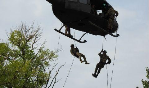 Съвместна гръцко-българска подготовка на Специалните сили - 1