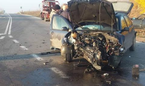 Пиян и надрусан мъж открадна автомобил и катастрофира