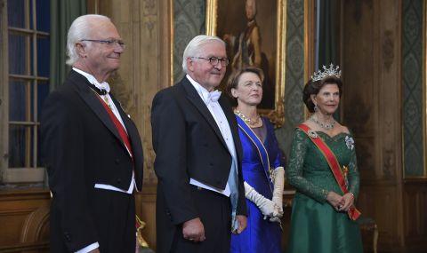 Германският държавен глава на посещение в Швеция - 1