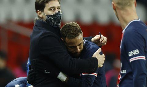 Неймар под въпрос за дербито с Марсилия заради стомашни проблеми