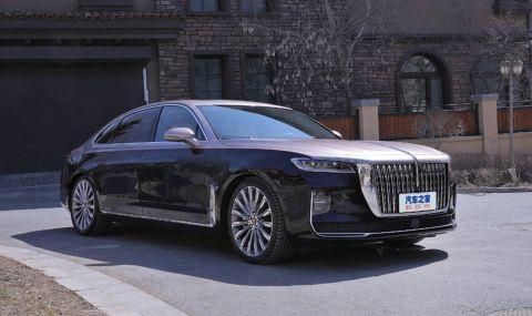 Награждават китайските спортисти със златни медали с най-луксозната китайска кола - 1