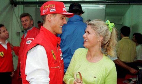 Усмивката се завърна на лицето на съпругата на Шумахер