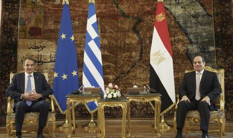 Гърция договори сътрудничество с Египет - 1