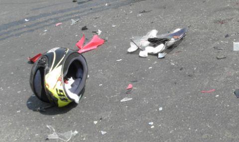Млад мотоциклетист загина в Кюстендилско, разбивайки се в стена