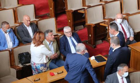 Пропадна извънредното заседание на Народното събрание