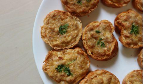 Рецепта на деня: Най-вкусните принцеси с кайма