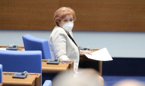 Менда Стоянова предупреди хората в неплатен отпуск