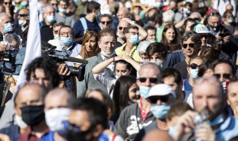 Италия регистрира невиждан брой заразени с COVID-19