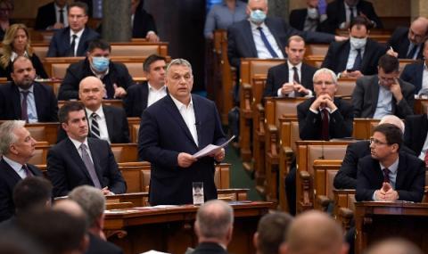 Спряха новите правомощия за Виктор Орбан