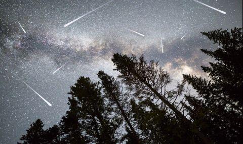 Дъжд от падащи звезди идва в първите нощи на май