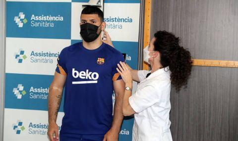 Агуеро: Добро решение! Барселона е най-добрият отбор в света и всички го знаят!