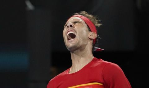 Надал бие и на виртуален тенис (ВИДЕО)