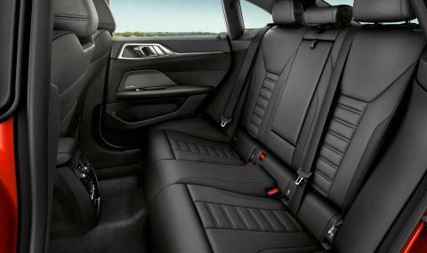 Новото BMW 4 Series Gran Coupe дебютира с познат дизайн и по-големи размери - 8