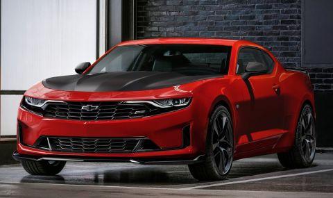 Chevrolet Camaro става електрически седан с четири врати? - 1