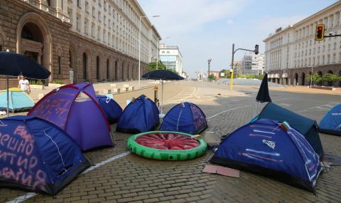 27-и ден на протести в столицата и страната