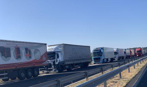 От днес започват засилени проверки върху товарните автомобили и автобусите