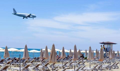 Отменени полети в Гърция