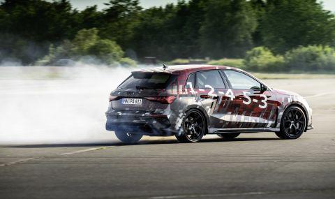 Audi RS3 ще разполага с 400 конски сили и дрифт режим (ВИДЕО) - 1