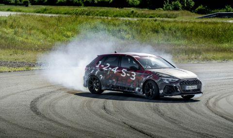 Audi RS3 ще разполага с 400 конски сили и дрифт режим (ВИДЕО) - 2