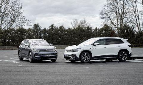 Volkswagen представи най-големия си електрически модел - 3