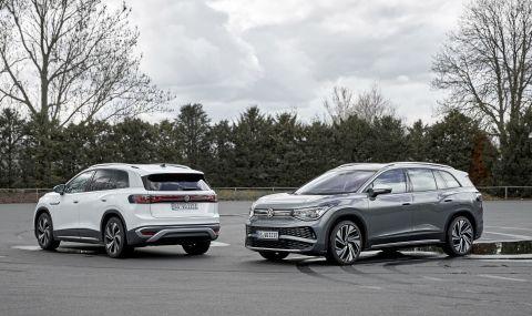 Volkswagen представи най-големия си електрически модел - 4