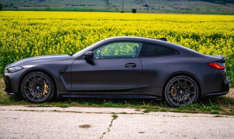 Тествахме новото BMW M4 Competition - 4
