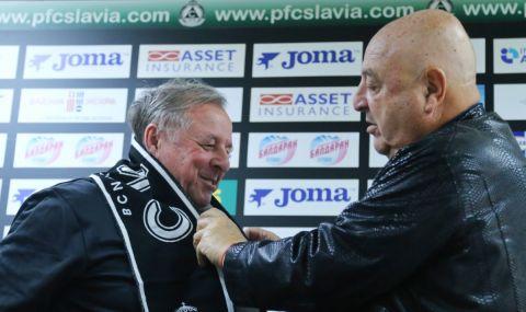 Треньорът на Славия: Не вкарваме заради коронавируса